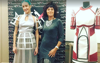 "Il volume, energia di Moda e Design"": Next Fashion School by Carla Secoli"