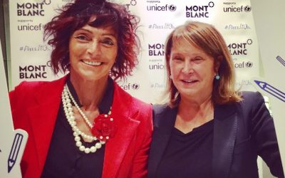 Montblanc rinnova il suo tradizionale sostegno verso L' UNICEF