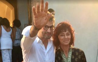 Nella notte di San Lorenzo brillano due stelle: Marina Ripa di Meana e Vittorio Camaiani
