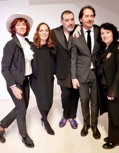 Gaia Caramazza, Gian Paolo Zuccarello, Grazia Marino e Antonio Falanga Spazio Margutta
